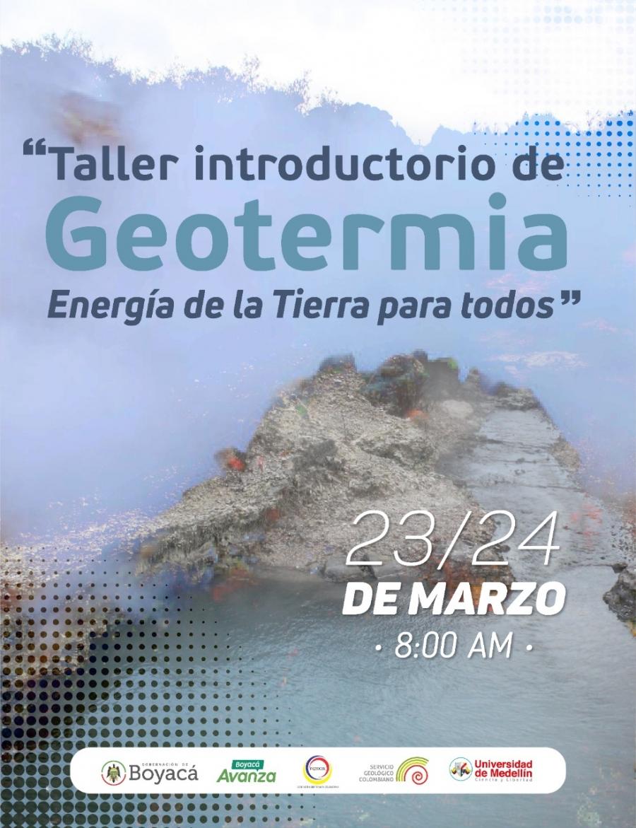 2021 Memorias Taller Introductorio de Geotermia
